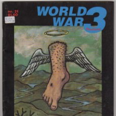 Revistas de música: WORLD WAR 3 Nº25 USA 1998. Lote 55870598