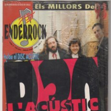 Revistas de música: ENDEROCK Nº5 (INCLUYE SINGLE DE B 30)JA T'HO DIRE , PETS . SANGTRAIT. Lote 55877702