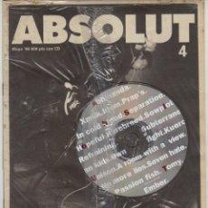 Revistas de música: ABSOLUT Nº4 (INCLUYE CD) FUFAZI, REFUSED, NO MORE LIES.... Lote 55880253