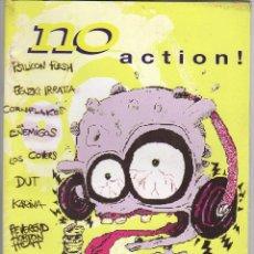 Revistas de música: NO ACTION Nº0 FANZINE PSILICON FLESH, CORNFLAKES, LOS ENEMIGOS, DUT... Lote 55880445