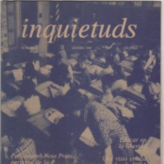 Revistas de música: INQUIETUDS Nº1. Lote 55880499