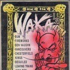 Revistas de música: WAKA Nº4 FANZINE IGGY POP, VANCOUVERS, BUM, .... Lote 55880625