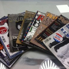 Revistas de música: LOTE 9 REVISTAS ROLLINGSTONE Nº49,50,51,52,53,56,57,59,60.. Lote 55900751