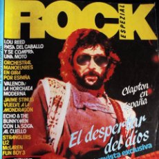 Revistas de música: REVISTA MUSICAL- ROCK ESPECIAL- ERIC CLAPTON Nº 21 DEL AÑO 1983. Lote 55915299