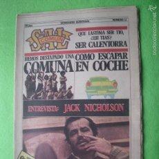 Revistas de música - SAL COMUN JACK NICHOLSON EN PORTADA Nº 12 - DOSSIER - COMUNA 1979 PDELUXE - 55918655