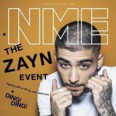 Revistas de música: NEW MUSICAL EXPRESS (NME) 25/03/2016 ZAYN MALIK (ONE DIRECTION), ADELE, PRIMAL SCREAM, MORRISSEY. Lote 221404781