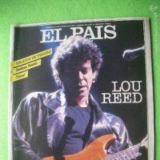 Revistas de música: SUPLEMENTO EL PAIS - Nº 489 AGOSTO 1986 - ENTREVISTA A LOU REED - . Lote 56190070