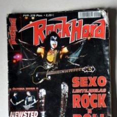 Revistas de música: REVISTA ROCK HORD Nº 2 FEBRERO 2001. Lote 56668007