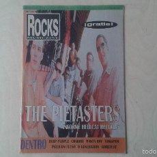 Revistas de música: ROCKS MUSICZINE Nº 14, 1998 [ THE PIETASTERS, MANTA RAY, DEEP PURPLE, CHARIOT, PSILICON FLESH... ]. Lote 56705685
