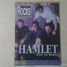 Revistas de música: ROCKS MUSICZINE Nº 15, 1998 [ HAMLET, TEENAGE FAN CLUB, NOSOTRÄSH, ROLLING SOTNES, KOMA... ]. Lote 56705697