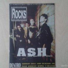 Revistas de música: ROCKS MUSICZINE Nº 19, 1998 [ ASH, TERROVISION, SURDO, BAD RELIGION, OFFSPRING, EL NIÑO GUSANO, DM3]. Lote 56705702