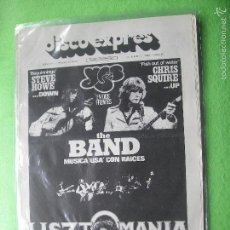 Revistas de música - DISCO EXPRES YES EN PORTADA(HOWE&SQUIRE) Nº 371-THE BAND,R.DALTREY,YES,.... 1976 PDELUXE - 56818383