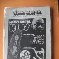 Revistas de música: DISCO EXPRES HEAVY METAL KIDS EN PORTADA Nº 365-ISAAC HAYES, VIRGIN RECORDS 1976 PDELUXE. Lote 56895714