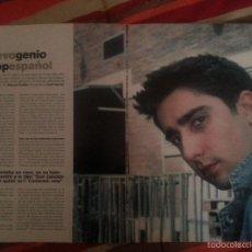 Revistas de música: ÁLEX UBAGO COLECCIÓN REPORTAJES DE REVISTA DE 2002. Lote 56996605