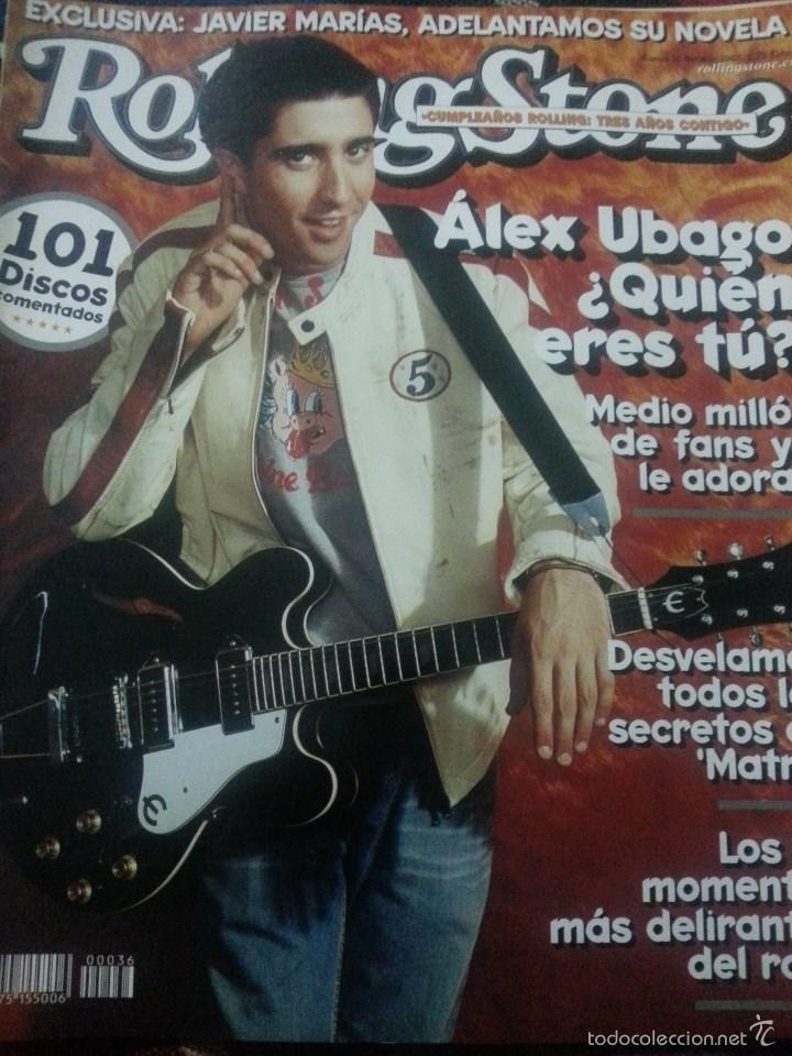 Revistas de música: Álex Ubago colección reportajes de revista de 2002 - Foto 2 - 56996605