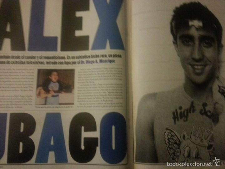 Revistas de música: Álex Ubago colección reportajes de revista de 2002 - Foto 3 - 56996605