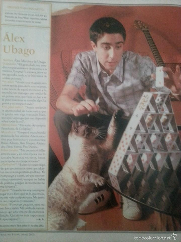 Revistas de música: Álex Ubago colección reportajes de revista de 2002 - Foto 6 - 56996605