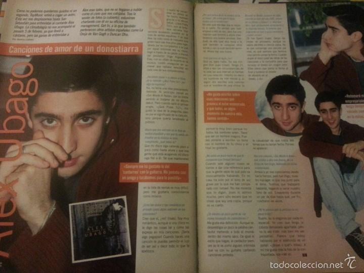 Revistas de música: Álex Ubago colección reportajes de revista de 2002 - Foto 8 - 56996605