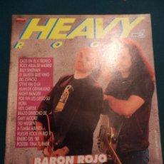 Revistas de música: HEAVY ROCK DE POPULAR 1 (BARON ROJO-SLAYER-JUDAS PRIEST-MURO-OBUS-ÑU-CON EL POSTER DE TINA TURNER). Lote 57147093