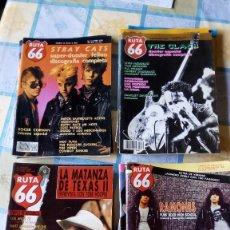 Revistas de música: REVISTA MUSICAL RUTA 66. LOTE DE NÚMEROS.. Lote 57354776