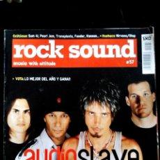 Revistas de música: REVISTA MUSICAL - ROCK SOUND - AÑO 2000 Nº 57. Lote 57372634