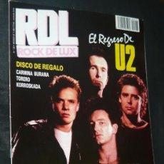 Revistas de música: ROCK DE LUX / RDL 28 (MARZO 1987): U2 (PORTADA), RADIO FUTURA, MOTORHEAD, COYOTES, ROCK VASCO. Lote 57407766