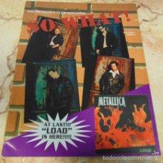 Revistas de música: THE METALLICA CLUB MAGAZINE SO WHAT! VOLUME 3 ISSUE 2. Lote 57550966