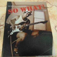 Revistas de música: THE METALLICA CLUB MAGAZINE SO WHAT! VOLUME 4 ISSUE 1. Lote 57550967