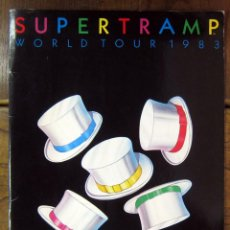 Revistas de música - SUPERTRAMP - PROGRAMA CONCIERTO GIRA WORLD TOUR 1983 - 24 PÁGINAS - 57691618