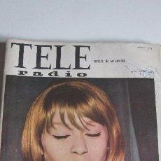 Revistas de música: TELE RADIO Nº 373 MARISOL EN PORTADA. Lote 57736594