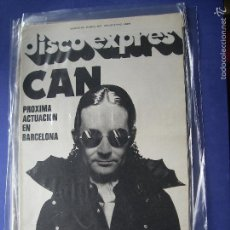 Revistas de música: DISCO EXPRES CAN EN PORTADA Nº 424.AL KOOPER,SYD BARRET,WINGS 1977 PDELUXE. Lote 57740074