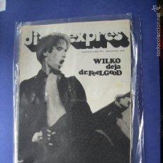 Revistas de música: DISCO EXPRES WILKO EN PORTADA Nº 423. FLEETWOOD MAC, WILKO,.... 1977 PDELUXE. Lote 57740090