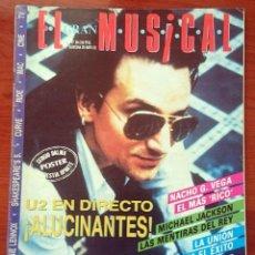 Revistas de música: EL GRAN MUSICAL Nº 364,MAYO 1992. U2, M. JACKSON, HAVANA, ANNIE LENNOX, NICK KAMEN, LA UNIÓN, CURE. Lote 57828701