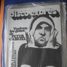Revistas de música: DISCO EXPRES PETER GBRIEL EN PORTADA Nº 418.CH.DANIELS,MCLAUGHLIN,....1977 PDELUXE. Lote 57875587