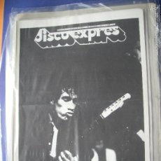 Revistas de música: DISCO EXPRES WILKO EN PORTADA Nº 414.BLUE OYSTER CULT,SOUTHSIDEJ 1977 PDELUXE. Lote 57875606