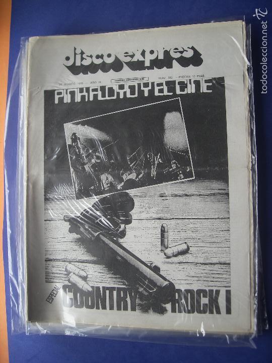 DISCO EXPRES JIMI HENDRIX EN PORTADA JIMI HENDRIX EN PORTADA 1976 PDELUXE (Música - Revistas, Manuales y Cursos)