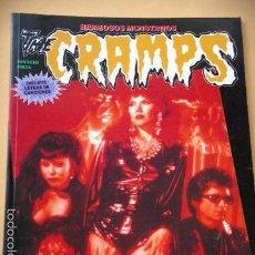 Magazines de musique: THE CRAMPS, COL. IMÁGENES DE ROCK Nº 40, ED. LA MÁSCARA, PSYCHOBILLY, MUY DIFICIL, C8. Lote 57894087