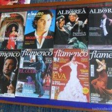Revistas de música: ACORDES DE FLAMENCO 1 2 5 23 LA NUEVA ALBOREÁ 11 13 ALMA 100 REVISTA DE FLAMENCO 69 70. RARAS. BE.. Lote 57906618
