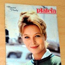 Revistas de música: ANTIGUA REVISTA PORTUGUESA - CON MARISOL Y ROCIO DÚRCAL - PLATEIA PORTUGAL - AÑO 1962. Lote 57988715