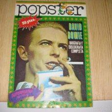 Revistas de música - REVISTA POPSTER Nº8, DAVID BOWIE - 58270726