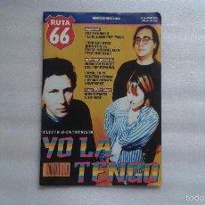 Revistas de música: RUTA 66 Nº 106 MAYO 1995. Lote 120566027