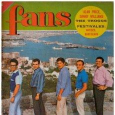 Revistas de música: REVISTA FANS – AÑO II Nº 56 – LOS JAVALOYAS, ALAN PRICE, JEAN FERRAT... POSTER MARTY COSENS. Lote 58565739