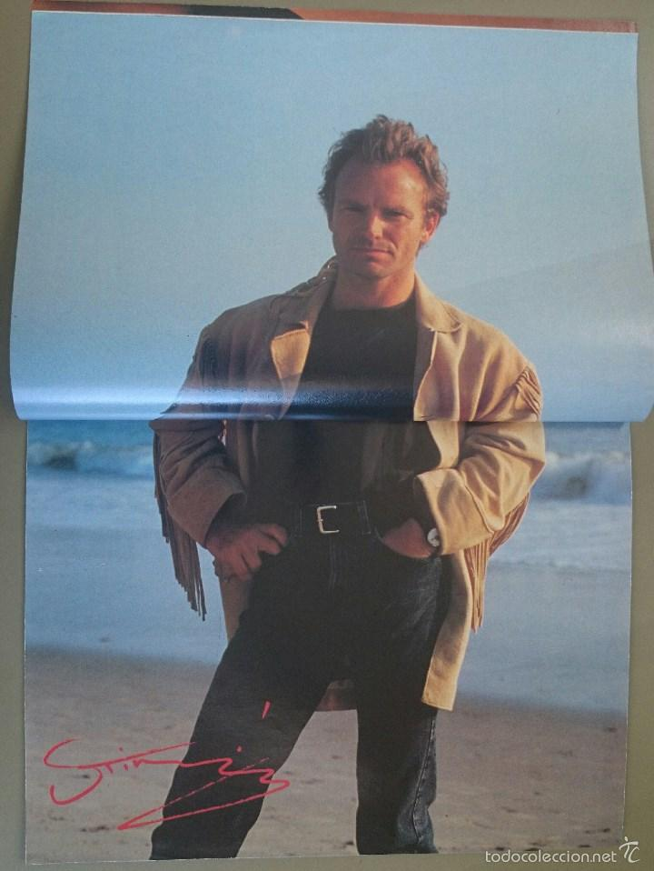 Revistas de música: Suplemento especial de El Gran Musical nº 338, de abril de 1991, dedicado a Sting. 16 páginas. - Foto 3 - 58635350