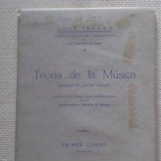 Revistas de música: MANUAL ,DE LA TEORÍA DE LA MÚSICA ,AÑOS 80 . Lote 58834136