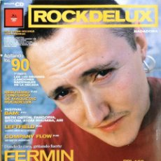 Revistas de música: ROCK DE LUX NÚMERO 166 FERMIN MUGURUZA 1999. Lote 59460170