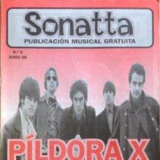 Revistas de música: SONATTA NÚMERO 2 JUNIO 98 PÍLDORA X EL RUIDOSO BLAFEMIA ALL SEX PICKEN CHRISTIANIA. Lote 59790000