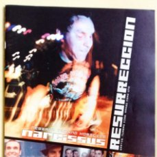 Revistas de música: RESURRECCION NÚMERO 10 NARCISSUS THE HIVES ZEIDUN SAFETY PIN. Lote 59990223