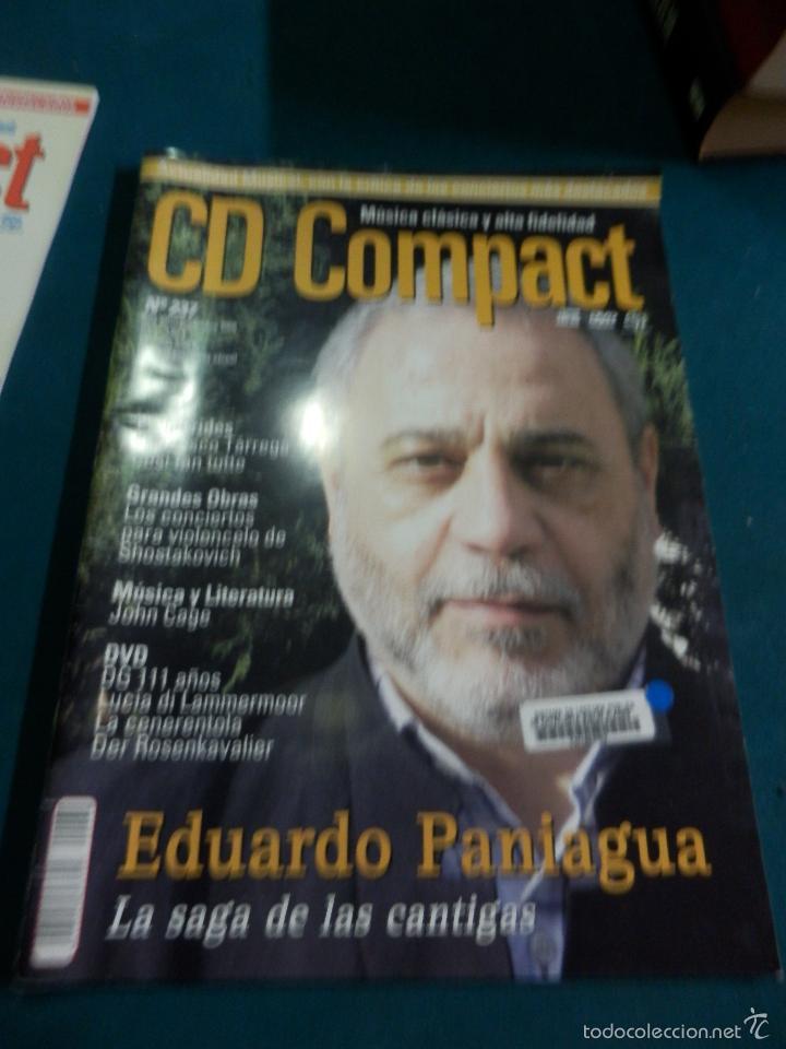 Revistas de música: CD COMPACT - REVISTA DE MÚSICA CLÁSICA Y ALTA FIDELIDAD - LOTE DE 15 Nº 226-233-235-236-237-238... - Foto 2 - 67855689