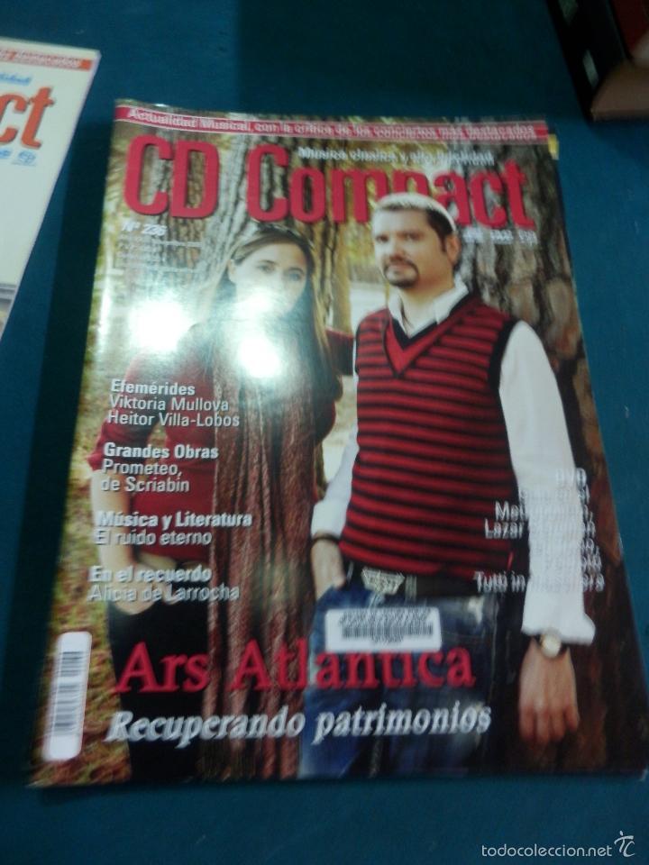 Revistas de música: CD COMPACT - REVISTA DE MÚSICA CLÁSICA Y ALTA FIDELIDAD - LOTE DE 15 Nº 226-233-235-236-237-238... - Foto 3 - 67855689