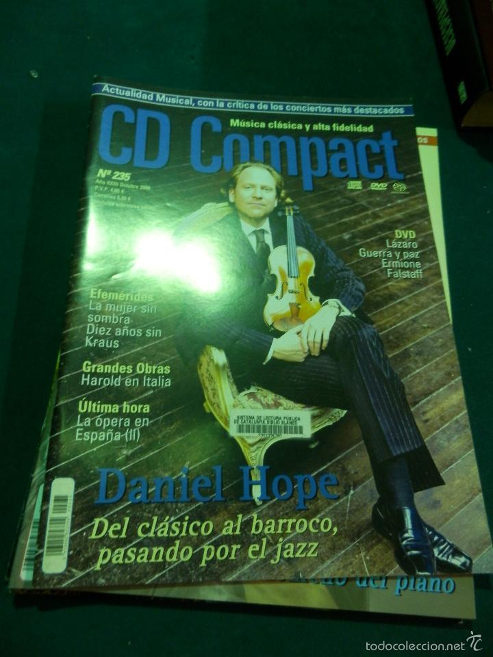Revistas de música: CD COMPACT - REVISTA DE MÚSICA CLÁSICA Y ALTA FIDELIDAD - LOTE DE 15 Nº 226-233-235-236-237-238... - Foto 5 - 67855689